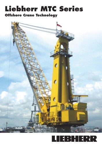 Liebherr Offshore Cranes MTC Series