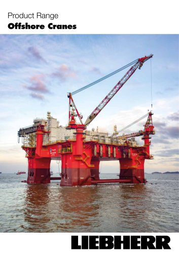 Liebherr offshore product range