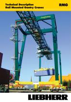 Liebherr Rail Mounted Gantry Cranes