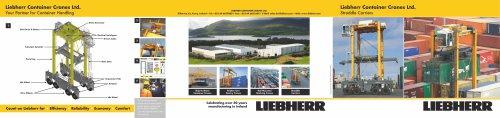 Liebherr Straddle Carrier brochure