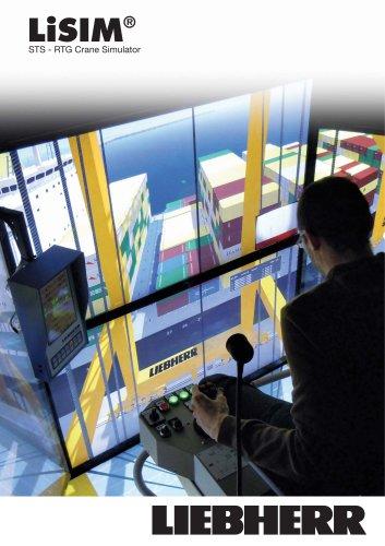 LiSIM crane simulator for STS container cranes