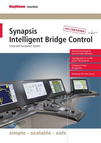 Synapsis Bridge Control - Integrated Bridge and Navigation System (IBS/INS)