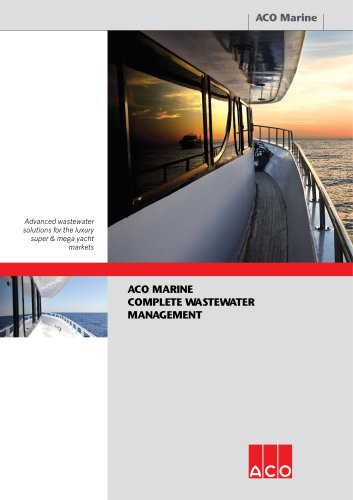 ACO Marine Complete Wastewater Management Brochure