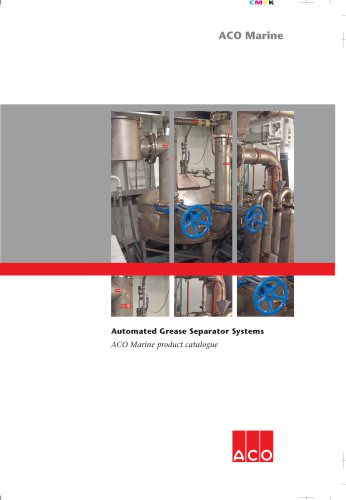 ACO Marine Grease Separator Systems