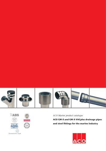 ACO Marine product catalogue