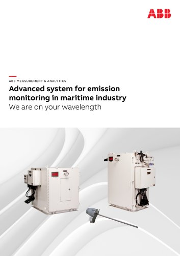 Brochure - Advanced system for emission monitoring in maritime industry | We are on your wavelength