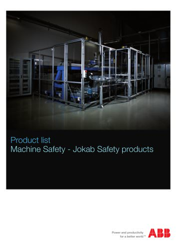 Product List - Jokab Safety Products