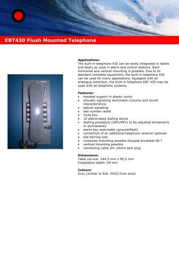 Alphaconnect EBT 430