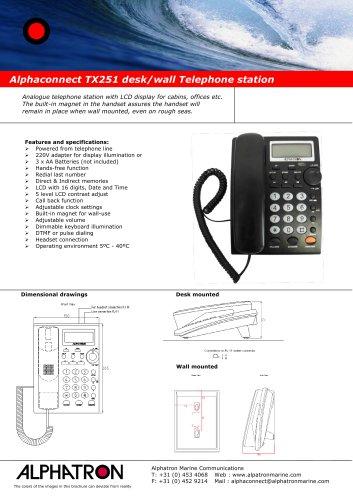 Alphaconnect TX251