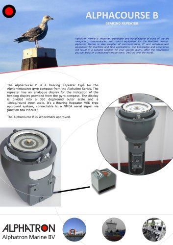 Alphacourse B - Bearing repeater