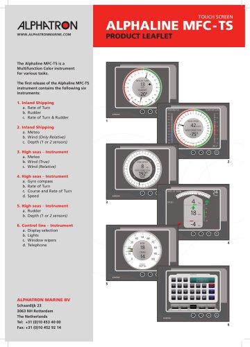 Alphaline MFC -TS (Touch Screen)