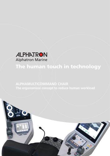 Alphamulticommand chair Alphatron