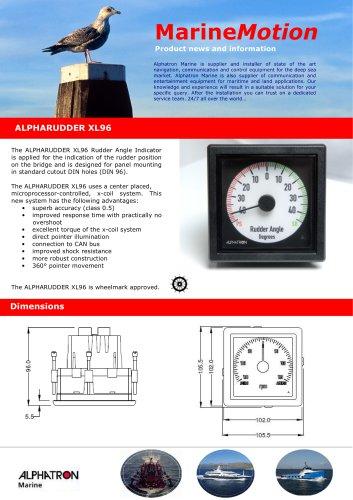 Alpharudder XL96