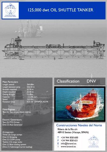 125.000 dwt Shuttle Tanker