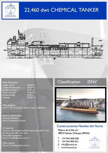 Chemical Tanker 22.460 dwt