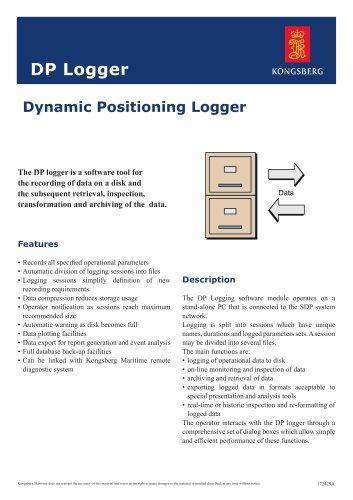 Dynamic Positioning Logger