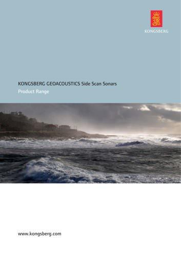 KONGSBERG GEOACOUSTICS Side Scan Sonars