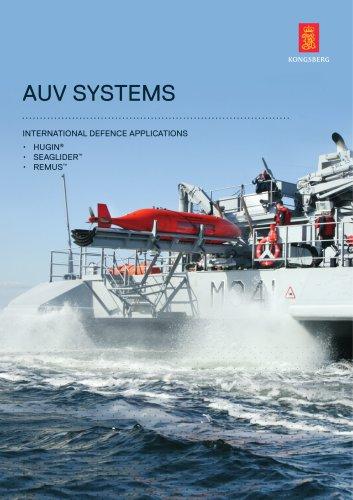 Naval AUV product range