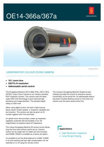 Underwater Colour Zoom Camera