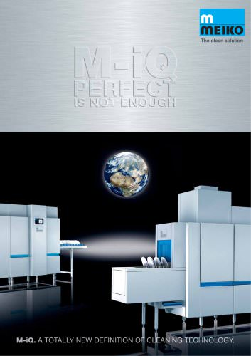 Catalogue Warewashing dishwashing machines M-iQ