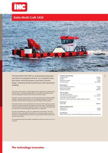 Delta Multi Craft Workboat 1450