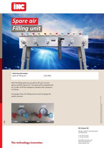 Spare air Filling unit