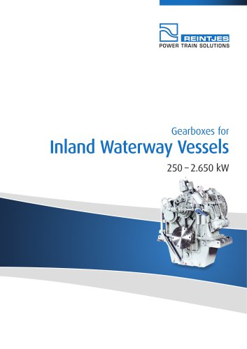 Gearboxes for Inland Waterway Vessels