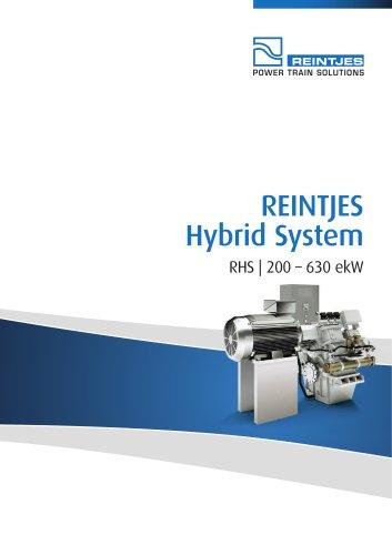REINTJES Hybrid System 200-630 ekW