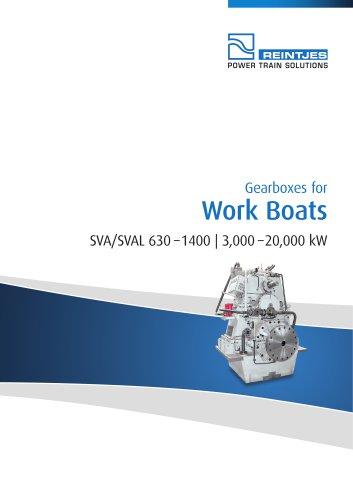 Work Boats SVA/SVAL 630 - 1400