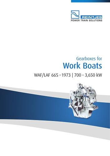 Work Boats WAF/LAF 6654 - 1963