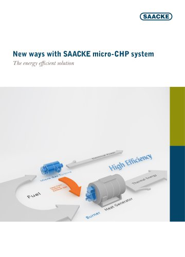New ways with SAACKE micro-CHP system