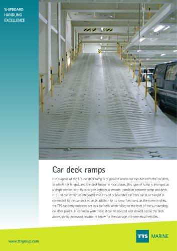 Car Deck Ramp