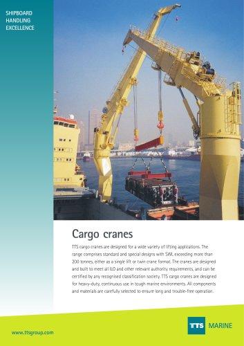 Cargo Cranes - Cylinder Luffing