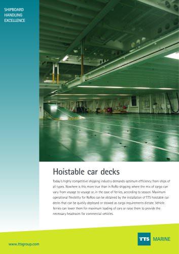Hoistable Car Deck