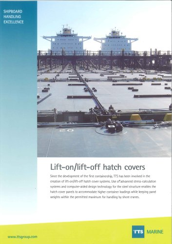 Lift-on/lift-off hatch covers