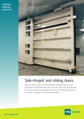 Side-hinged and Sliding Door