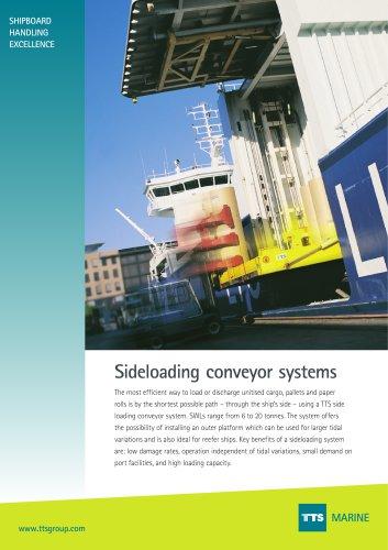 side loading conveyer system