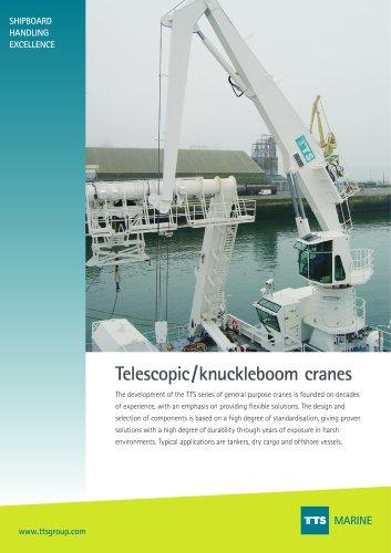 TTS Knuckle/Telescopic cranes brochure
