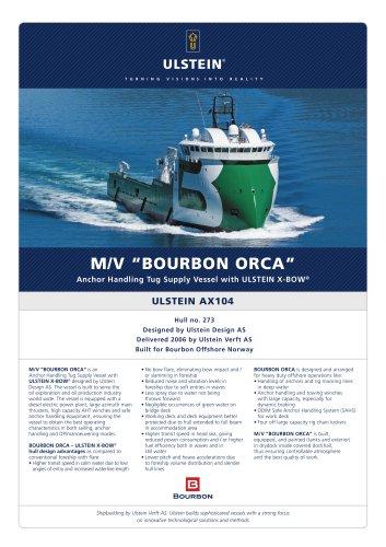"""M/V """"BOURBON ORCA"""""""