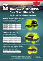 RescYou? liferaft range leaflet