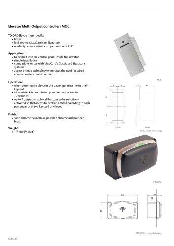 Elevator Multi-Output Controller (MOC)