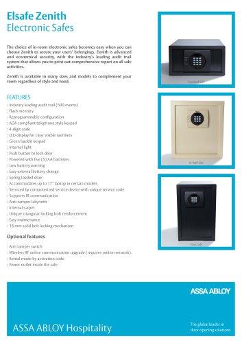 Elsafe Zenith Electronic Safes