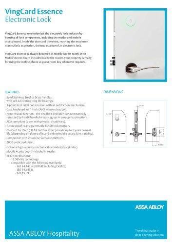 Essence Product Sheet