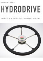 HYDRAULIC & MECHANICAL STEERING SYSTEMS