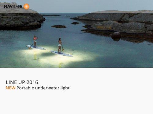 LINE UP 2016 NEW Portable underwater light