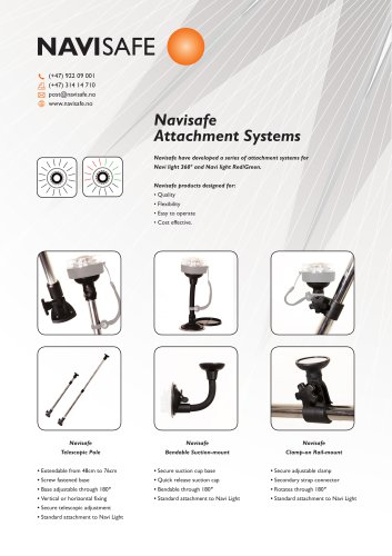 Navi Light Sport : Attachments