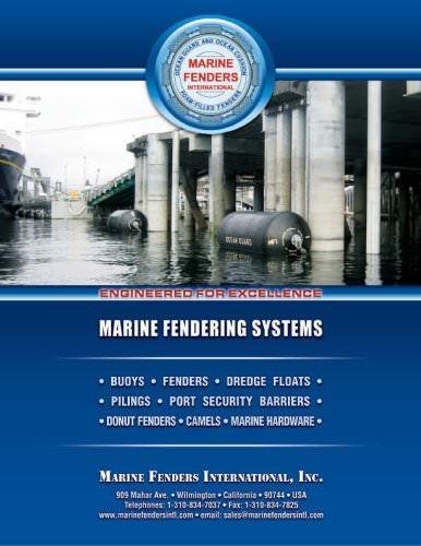 Marine Fenders International - foam filled fenders and buoy