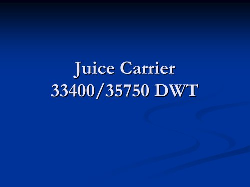Juice Carrier