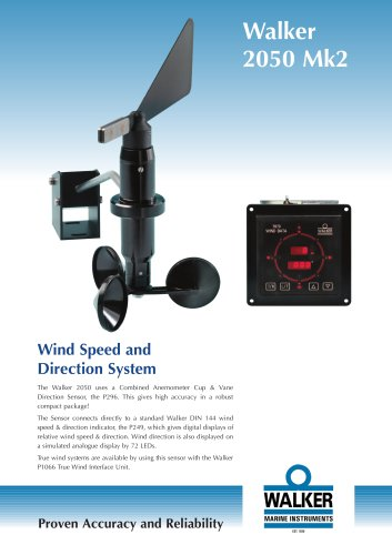 Wind Speed and Direction System