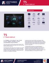 """T5 - 5"""" Touch LCD Display"""